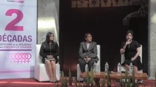 """Foro: """"CDMX, dos décadas del Derecho de las Mujeres a una vida libre de violencia"""""""