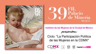 Participa Inmujeres CDMX en la FIL del Palacio de Minería