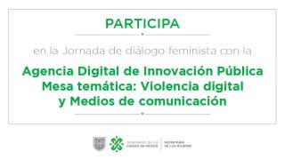 Participa en la Jornada de diálogo feminista