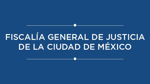 Fiscalía General de Justicia de la Ciudad de México