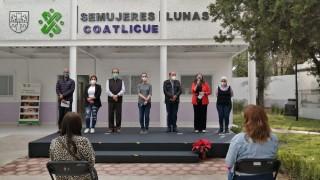 RECIBE SEMUJERES NUEVAS INSTALACIONES DE LUNA COATLICUE AGRÍCOLA ORIENTAL