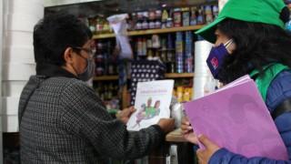 VISITA LA RED DE MUJERES PARA EL BIENESTAR EL 92% DE LAS 170 COLONIAS CONTEMPLADAS EN LA INICIATIVA